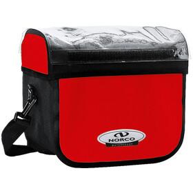 Norco Yukon Handlebar Bag red-black
